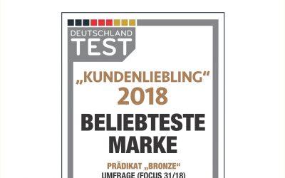 """Gudereit ist """"Kundenliebling"""" 2018 (Focus Money)"""